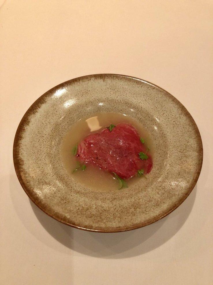 Foie gras mandoo